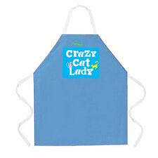 Crazy Cat Lady Apron in Columbia
