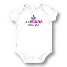 Princess That's Why Baby Romper