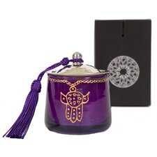 Moroccan Khamsa Jar Candle