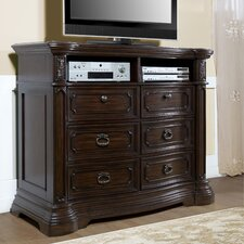 <strong>Pulaski Furniture</strong> Cassara 6 Drawer Media Chest