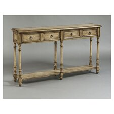 <strong>Pulaski Furniture</strong> Rustic Chic 2 Drawer Console Table