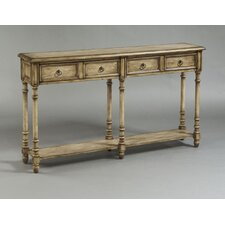 Rustic Chic 2 Drawer Console Table