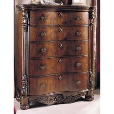 Edwardian 5 Drawer Chest