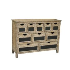 10 Drawer Accent Chest