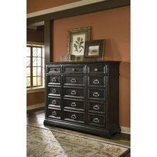 Brookfield 15 Drawer Gentleman's Chest