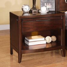 Tangerine 1 Drawer Nightstand