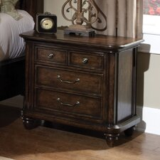 Saddle Ridge 3 Drawer Nightstand