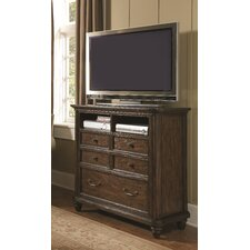 Saddle Ridge 3 Drawer Media Chest