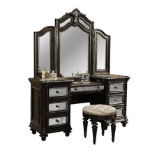 Reflexions Vanity Set with Mirror
