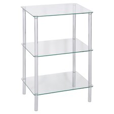 Membrillo 3 Tier Square Shelving Unit