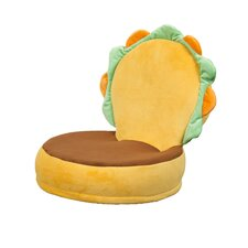Critter Cushion Burger Kids Chair