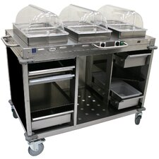 Mobile Hot / Cold Buffet Cart