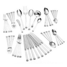 Trianon 46 Piece Dinner Flatware Set