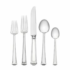 <strong>Tuttle</strong> Pantheon 5 Piece Dinner Flatware Set