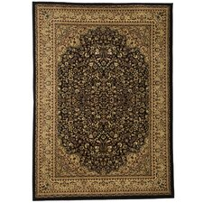 Traditional Area Rug in Black