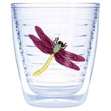 Garden Splendor Dragonflies 12 oz. Insulated Tumbler (Set of 4)