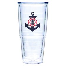 Anchor Blue 24 oz. Big-T Tumbler (Set of 2)