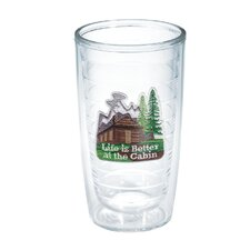 Life is Better 16 oz. Life is Better Cabin Insulated Tumbler (Set of 4)
