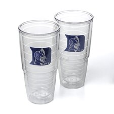 Collegiate Duke University 24 oz. Insulated Tumbler (Set of 2)
