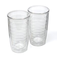 Clear 16 oz. Insulated Tumbler (Set of 2)