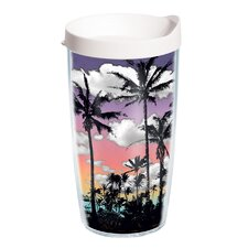 Palm Tree 16 oz. Wrap Insulated Tumbler (Set of 2)