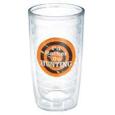 I'd Rather Be 16 oz. Hunting Insulated Tumbler (Set of 4)