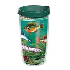 Multi Fish 16 oz. Wrap Insulated Tumbler (Set of 2)
