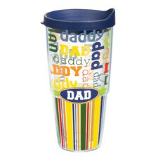 24 oz. Wrap Dad Insulated Tumbler (Set of 2)