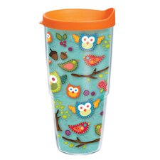 Owl 24 oz. Wrap Lora Insulated Tumbler (Set of 2)