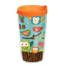 Owl 16 oz. Wrap Lora Insulated Tumbler (Set of 2)
