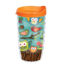 Owl 10 oz. Wrap Lora Wavy Insulated Tumbler