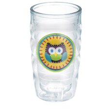 Owl 10 oz. Wavy Insulated Tumbler