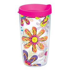 Flip Flop 16 oz. Wrap Insulated Tumbler (Set of 4)