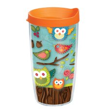 Owl 16 oz. Wrap Lora Insulated Tumbler (Set of 4)
