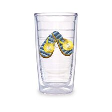 Flip Flop 16oz. Blue Tumbler (Set of 4)
