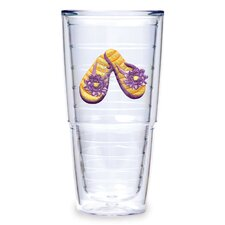 Flip Flop 24oz. Orange Tumbler (Set of 2)