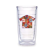 Hawaii 16 oz. Shirt Red Tumbler (Set of 4)