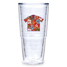 Hawaii 24 oz. Shirt Red Tumbler (Set of 2)