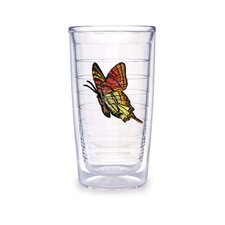 <strong>Tervis Tumbler</strong> Butterfly 16oz. Yellow Orange Tumbler (Set of 4)