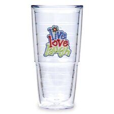 <strong>Tervis Tumbler</strong> Live Love Laugh 24 Oz Tumbler (Set of 2)