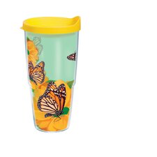 24 Oz. Wrap Monarch Butterfly Tumbler (Set of 2)