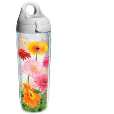 Wrap Gerba Daisy Water Bottle