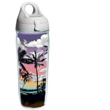 Wrap Palm Tree Water Bottle