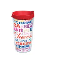16 Oz. Wrap Cheers Tumbler (Set of 2)