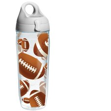 Wrap Footballs Water Bottle
