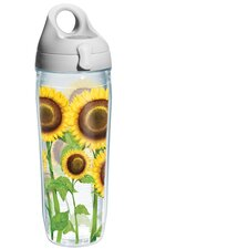 Wrap Sunflowers Water Bottle