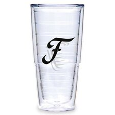 Black Laser Twill F 24 oz. Big-T Tumbler (Set of 2)