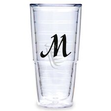 <strong>Tervis Tumbler</strong> Black Laser Twill M 24 oz. Big-T Tumbler (Set of 2)