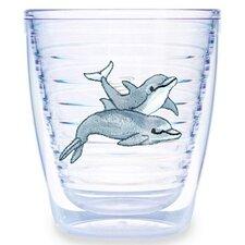 Animals and Wildlife Bottlenose Dolphin 12 oz. Insulated Tumbler (Set of 4)