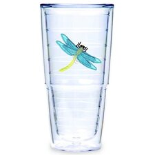 <strong>Tervis Tumbler</strong> Dragonflies Blue 24 oz. Big-T Tumbler (Set of 2)